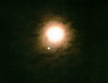 full moon, jupiter jan 26 2013